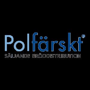 Polfärskt logotyp i färg